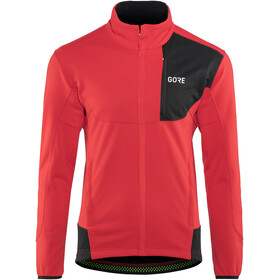 GORE WEAR C5 Windstopper Thermo Trail Jacket Men red/black